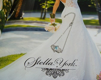 Hamsa Evil Eye Mother of Pearl Shell 925 Sterling Silver Chain Bracelet - Hamsa Hand Jewelry - Hamsa Jewellery