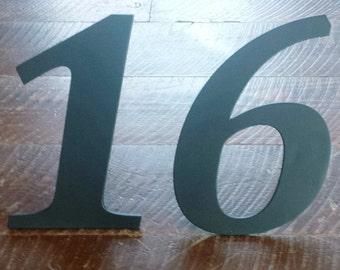 "Custom 8"" Metal House/Address Numbers"