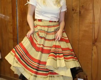 very rare 1950's paper skirt medium