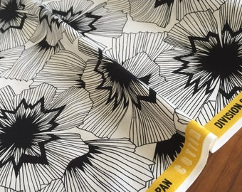 Cotton + Steel - Black & White 2016 - Persephone - Half Yard