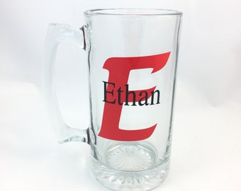 Personalized/Monogrammed Beer Mug
