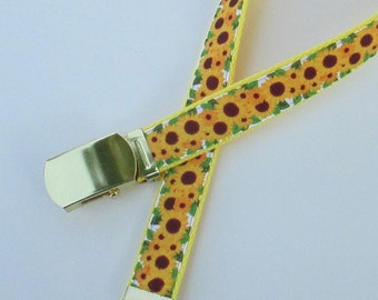 Sunflower Belt for Girls, Cute Childrens Belts for Children, Cute Kids Belts for Kids,Girls Sunflower Belt,School Uniform Belts,School Belts