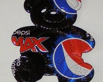 Teddy Bear Magnet - Pepsi MAX Soda Can