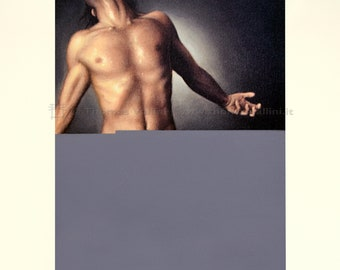 Prints to frame-loading male figures #1-print, man, nude, upload error