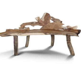Teak Root Bench (150cm)