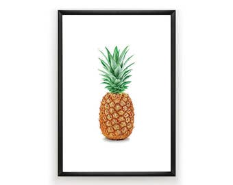 Pineapple Print, Tropical Printable's, Pineapple Art, Pineapple Photo, Tropical Art, Tropical Print, Pineapple Wall Art, Digital Download,