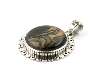 Japanese Inspired Biggs Jasper Pendant by Turquoise Kingdom
