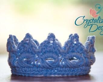 PDF Crochet PATTERN Perfect Prince/Princess Crown