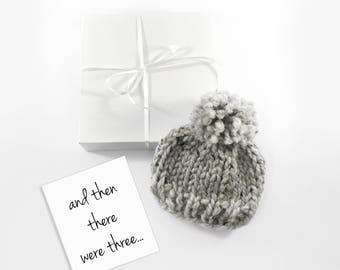 Pregnancy Reveal to Grandparents, Baby Hat, Gift, Choose Your Color