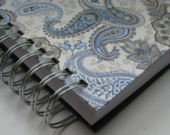 Bible Notebook - Devotional Journal - Daily Devotion - Bible Verse Journal - Prayer Journal - Bible Memory -  Morning Devotions - Paisley