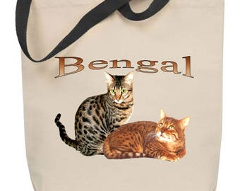 Bengal Cat Tote Bag