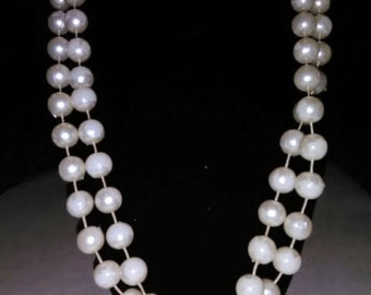 Huge Circle Pearl Necklace