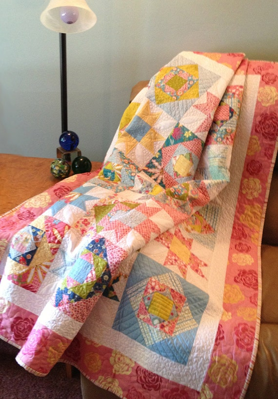 lap quilt pattern easy quilt pattern tropical two block simple