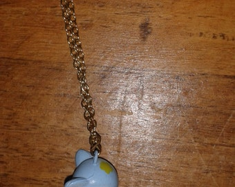 Blue Baby Bambi Necklace