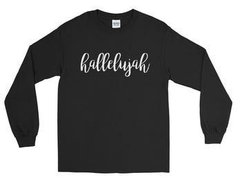Hallelujah Tee | Hallelujah Long Sleeve Shirt | Hallelujah | Christian Gifts | Christian T Shirts | Christian Shirts | Christian Gifts for W