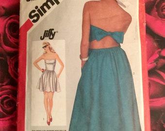1980's Vintage Simplicity Pattern  #6323