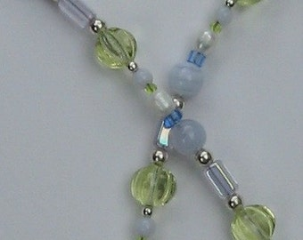 Sterling Silver Spring Colors Necklace