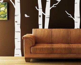 Forest Kit Vinyl Decal Size SMALL  - Home Decor, Office Decor, Bedroom Decor, Artistic Decor, Artsy Decor, Summer Decor, Woodland Decor,