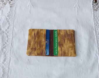 Card wallet banking or business