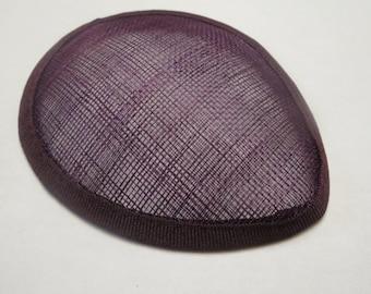 Eggplant Mini Teardrop Hat for Costumes (J-C)