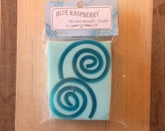 Blue Raspberry Soap