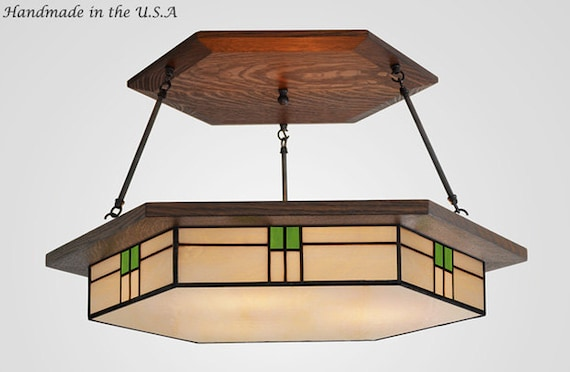 Craftsman Style Dining Room Lighting Fixture