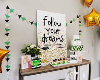 As Seen on SHUTTERFLY--INSTANT DOWNLOAD The Dreamer Printable Party Collection Full Collection