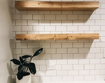 Shelf, Floating Shelf, Reclaimed Wood Shelf, Wood Shelf, Wooden Shelves, Floating Shelves, Modern Home, Modern Kitchen Decor, Floating Shelf