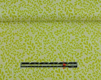 Boxwood Chartreuse - Daisies 'N Such - Quilting Sewing Organic Fabric By the Half Metre