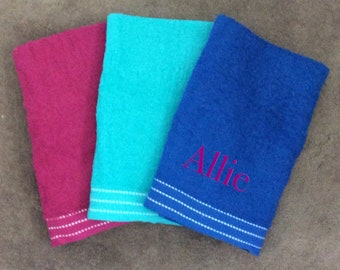 """Personalized Beach Towel 27""""x58"""" FREE SHIPPING"""