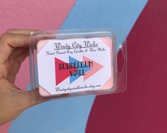 Disney Themed Soy Wax Melt- Bubble Gum Wall