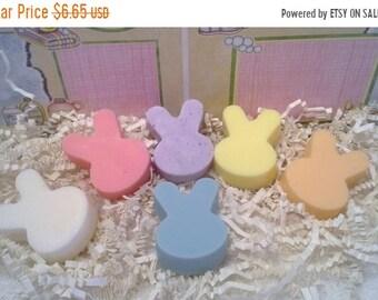 Mini Easter Bunny Glycerin Soap Set, Small Bunny Soaps, Bunny Soaps, Easter Soap Set, Easter Gift, Easter Set, Childrens Soap Favors
