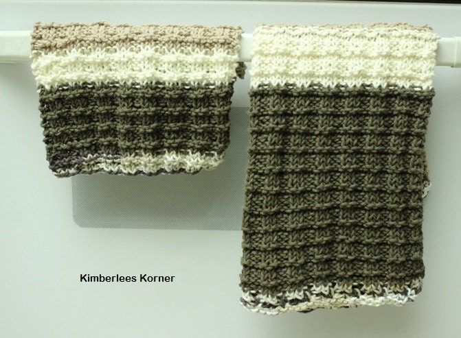 Knitting Pattern Dish Towel Pattern Dishcloth Patterns Easy
