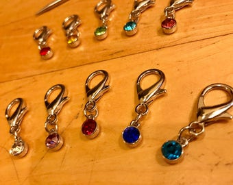 Gem Stitch Marker Set (5)