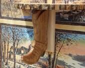 Wood Wall Scone Shelf - W...