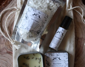 Bloat Relief/Holistic/Healing Kit/Self Healing