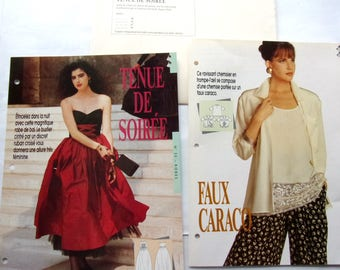 sewing pattern / / sewing passion / / women evening dress / blouse for women / REF. 30