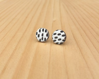 stitch studs | stud earrings | everyday studs | jewelry for her