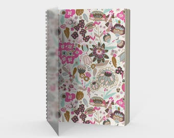 Botanical Spiral Notebook