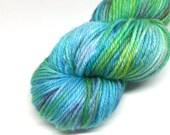 Merino DK - Hand Dyed Yarn - Fingering - Variegated - Mermaid