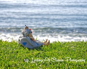 headless doll art, not so creepy doll art photo, old doll by the ocean, outsider art, creepy cute photo, more art for cool kids
