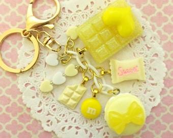 Yellow Bag Charm