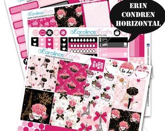 Valentine's Day Stickers, Winter Planner Kit 200+ Planner Stickers, for Erin Condren Horizontal Planner, February planner #SQ00055-ECH
