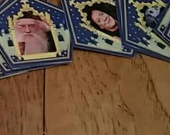 Chocolate Frog Cards!