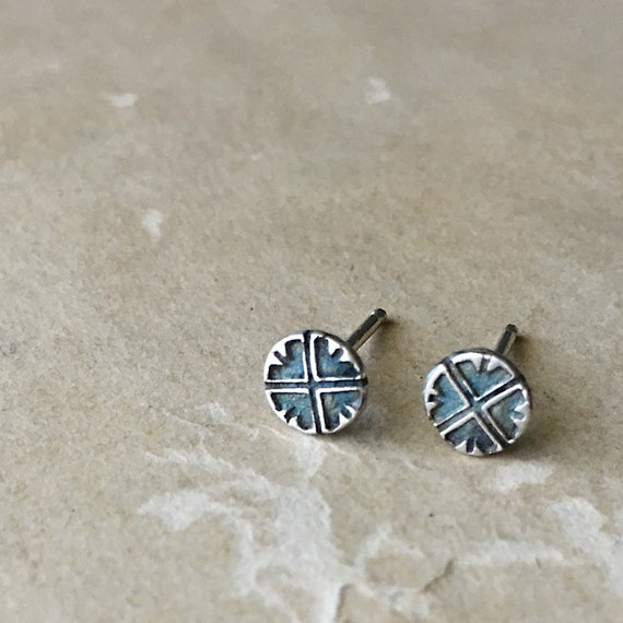 Small Silver Stud Earrings | Post Earrings | Tiny Studs