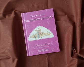Beatrix Potter Books - The Tale of The Flopsy Bunnies- Children's Hardcover Books