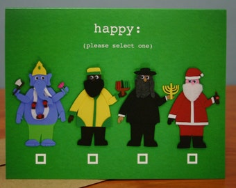Choice is good - Funny holiday card
