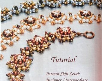 PERLICOPINE beaded bracelet beading tutorial beadweaving pattern seed bead beadwork jewelry beadweaving tutorial beading pattern instruction
