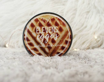 Eleven's Eggos 4oz Soy Candle | Stranger Things Inspired Bookish Candle