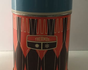 1971 King_Seeley Thermos bottle no 7063 ~ Thermos Co ~ Thermos
